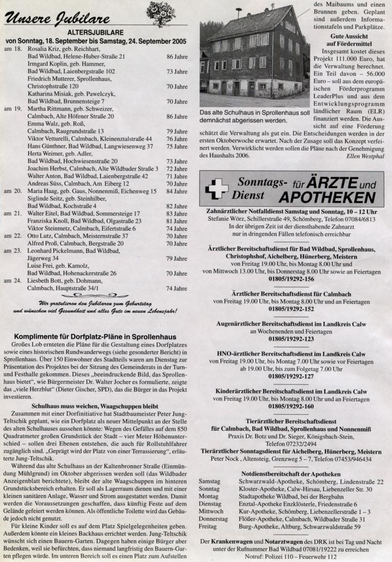 2005-09-17-wildbader_anzeigeblatt-komplimente_dorfplatz