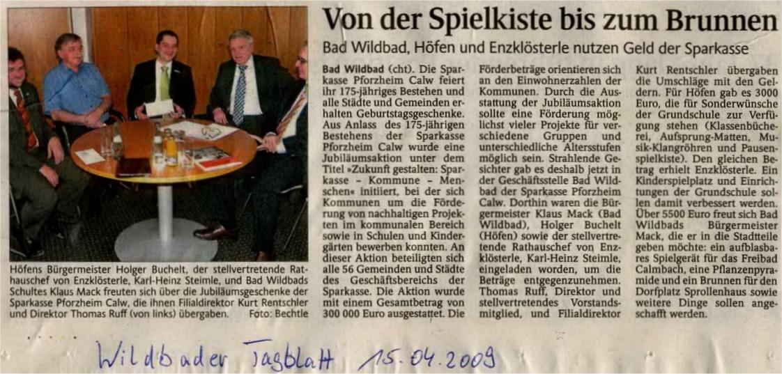 2009-04-15-wildbader_tagblatt-spende_sparkasse_stadt
