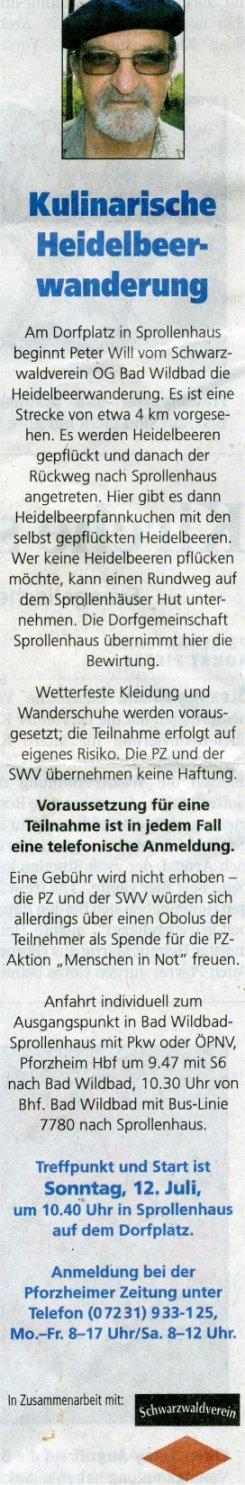 2009-07-04-pforzheimer_zeitung-heidelbeer_wanderung_will